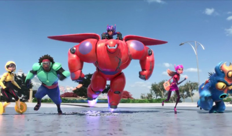 BIG HERO 6 - LES NOUVEAUX HÉROS - Image du film  - Go with the Blog