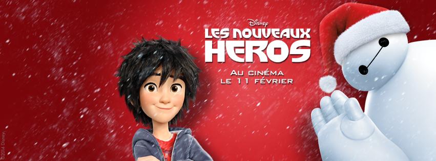 BIG HERO 6 - LES NOUVEAUX HÉROS - bannière visuel large Noël Baymax - Go with the Blog