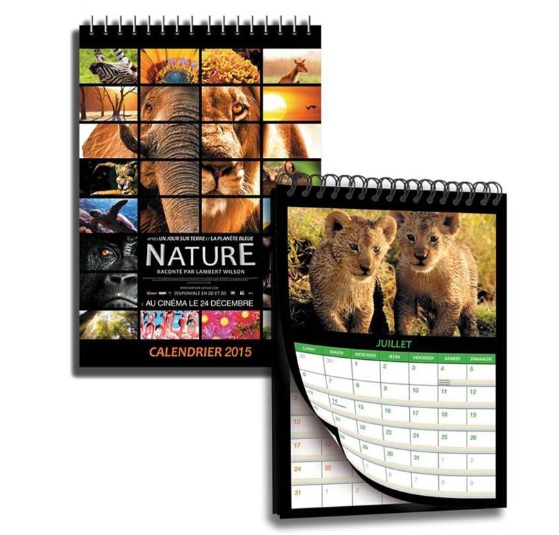 Concours film 2014 NATURE chez Metropolitan - visuel calendriers à gagner - copyright Go with the Blog