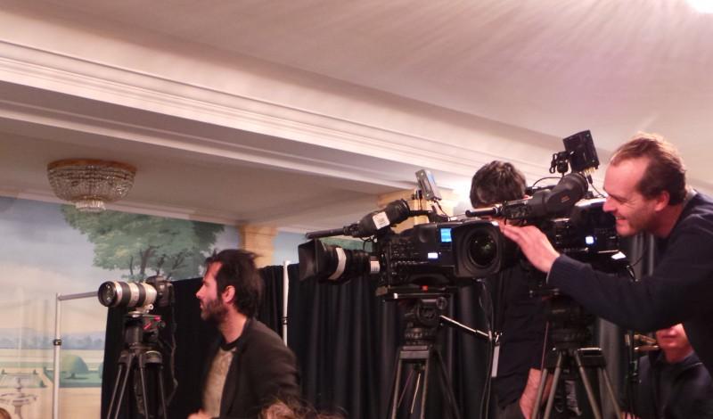 EXODUS - Conference de Presse Paris Ridley Scott Christian Bale Joel Edgerton Decembre 2014 - 20141202_100048