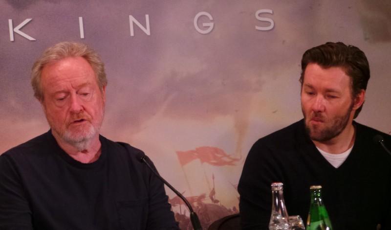 EXODUS - Conference de Presse Paris Ridley Scott Christian Bale Joel Edgerton Decembre 2014 - 20141202_101055