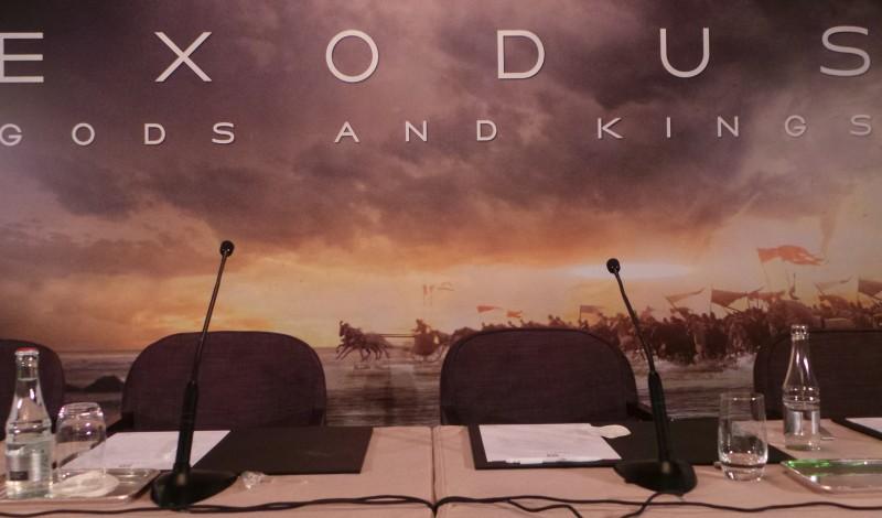 EXODUS - Conference de Presse Paris Ridley Scott Christian Bale Joel Edgerton Decembre 2014 - 20141202_104040