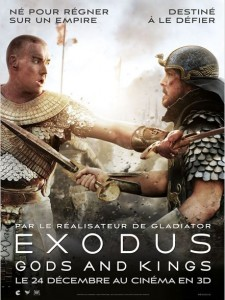 EXODUS GODS AND KINGS - affiche France film Ridley Scott - Go with the Blog