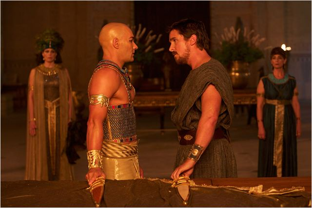 EXODUS GODS AND KINGS - image du film Christian Bale Joel Edgerton - Go with the Blog