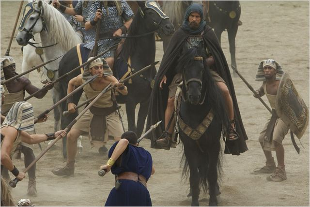 EXODUS GODS AND KINGS - image du film Christian Bale Moïse - Go with the Blog