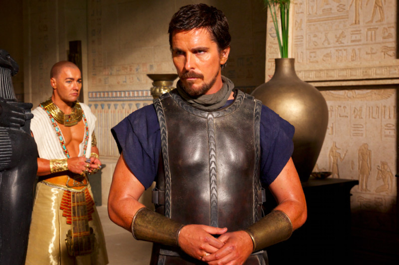 EXODUS - image du film Christian Bale and Joel Edgerton - Go with the Blog