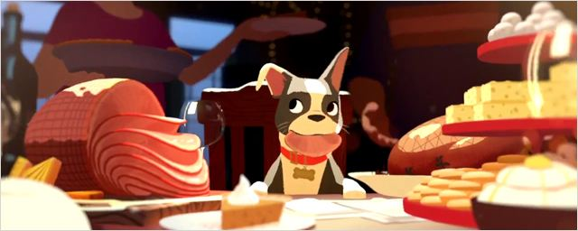 FEAST LE FESTIN - court métrage Disney Short film LES NOUVEAUX HÉROS BIG HERO 6 - Go with the Blog