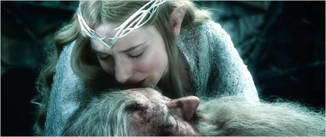 LE HOBBIT  LA BATAILLE DES CINQ ARMÉES - image du film Cate Blanchett - Go with the Blog