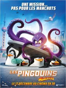 LES PINGOUINS DE MADAGASCAR - Go with the Blog - Affiche du film
