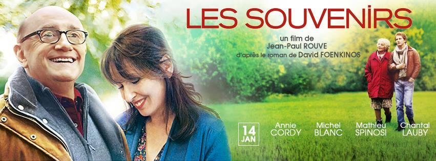 LES SOUVENIRS - bannière visuel large film Jean Paul Rouve avec Annie Cordy - Go with the Blog