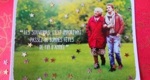 Envoyez vos Cartes de Vœux avec le film LES SOUVENIRS
