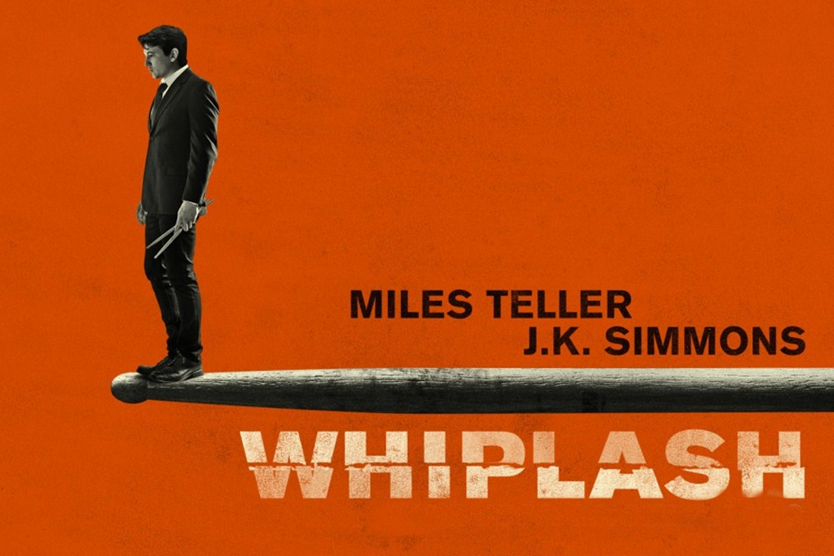 WHIPLASH - Concept Art Miles Teller JK Simmons movie - Go with the Blog
