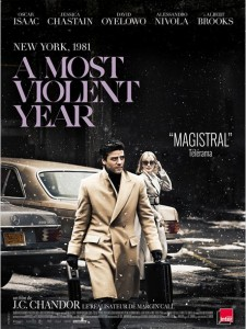 A MOST VIOLENT YEAR - affiche France film JC Chandor - Go with the Blog