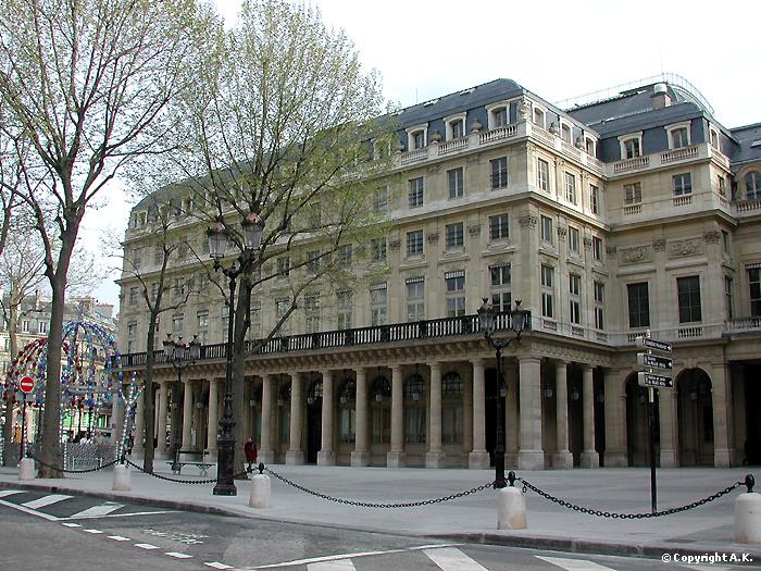 Canal cin ma la com die fran aise divine com die - Comedie francaise salle richelieu ...