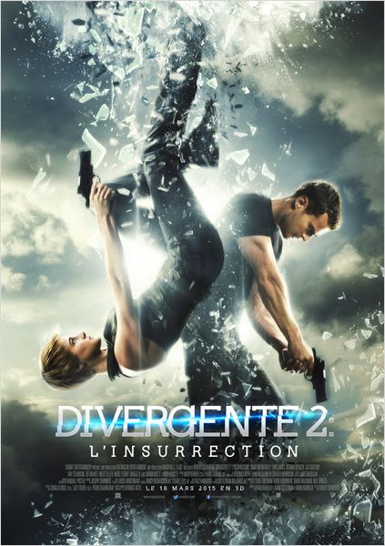 DIVERGENTE 2 INSUGRENT INSURGENTE - Affiche FRANCE - Go with the Blog
