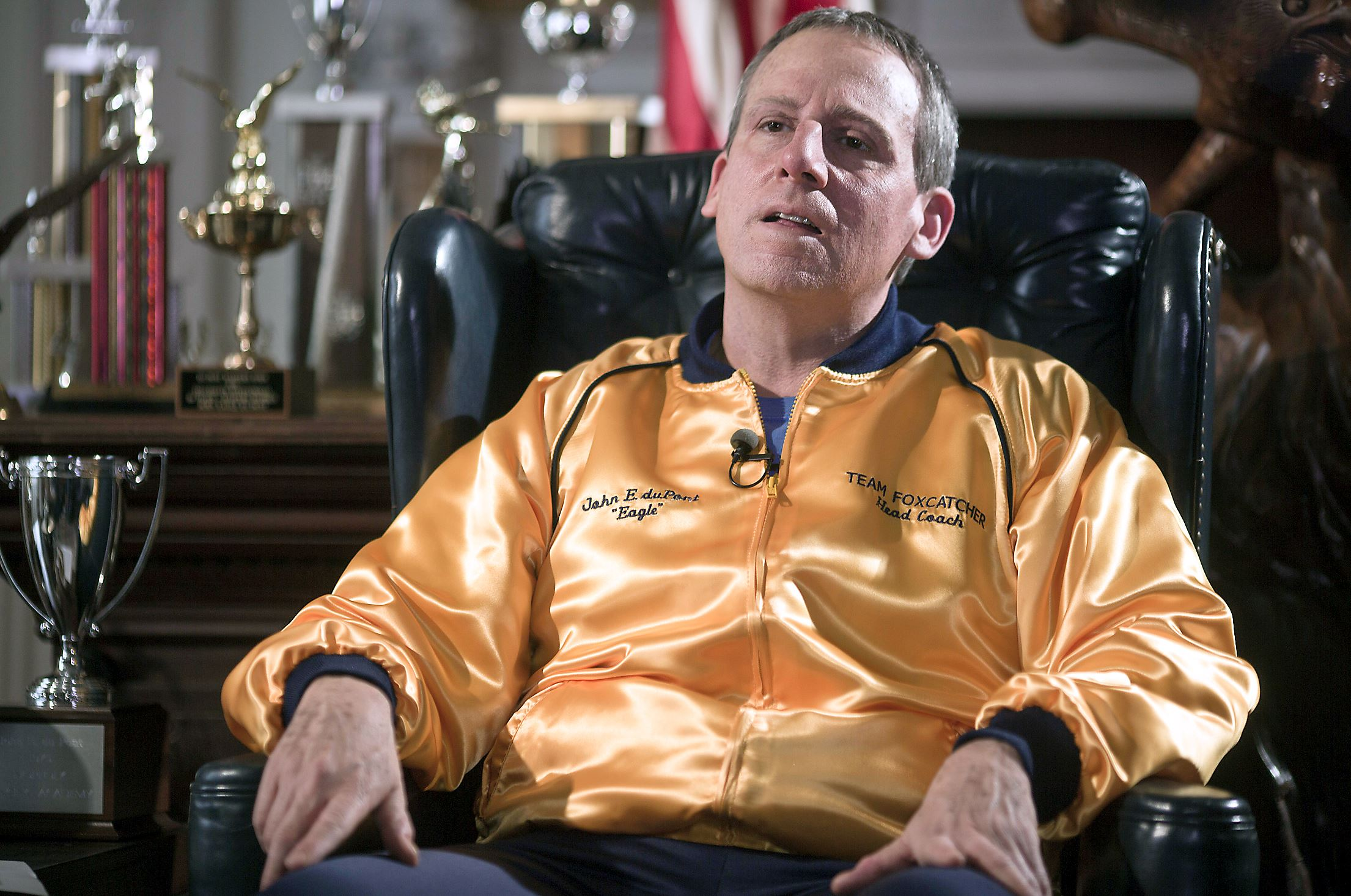 FOXCATCHER - image2 du film Bennett Miller Steve Carell John E Du Pont - Go with the Blog