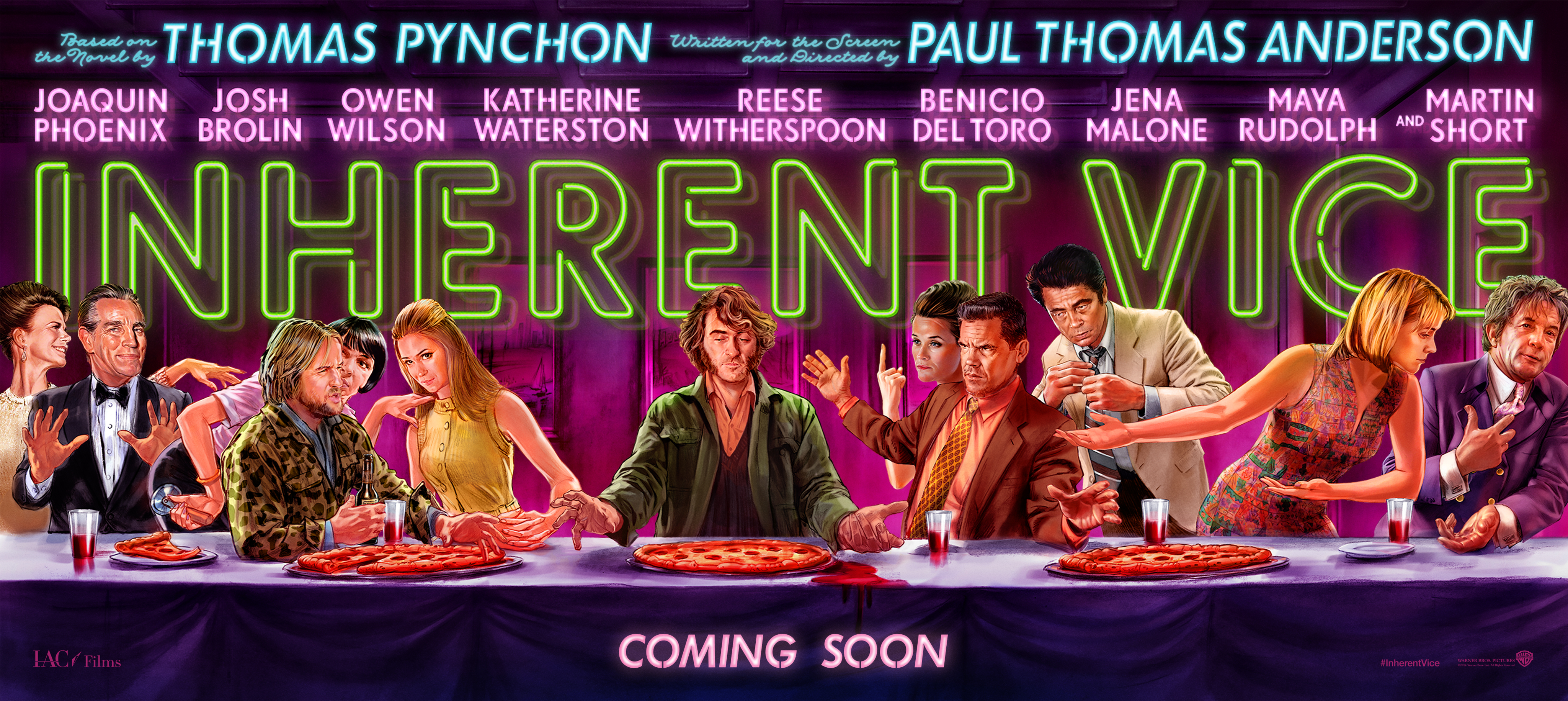 INHERENT VICE - bannière large picture visuel large movie picture Paul Thomas Anderson Joaquin Phoenix - Go with the Blog