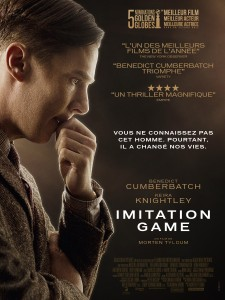 Imitation Game - Go with the Blog - Affiche du film