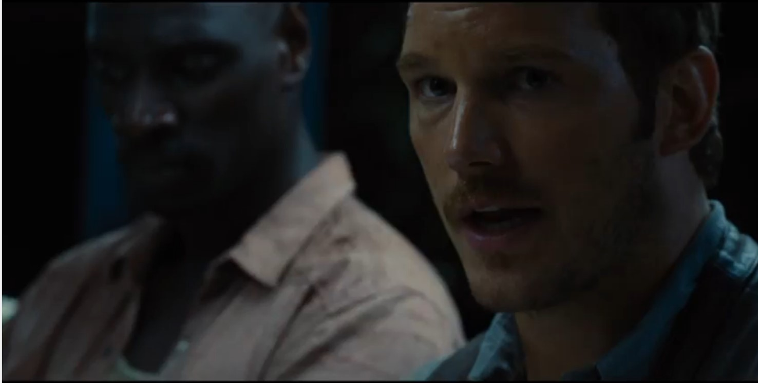 JURASSIC WORLD - Omar Sy in SuperBowl trailer 2015 - Go with the Blog