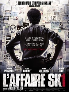 L'AFFAIRE SK1 - affiche France film Personnaz Frederic Tellier - Go with the Blog
