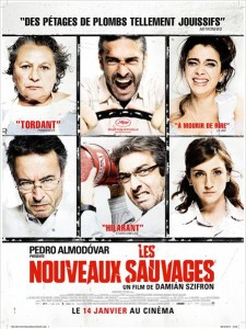 Les nouveaux sauvages - Go with the Blog - Affiche