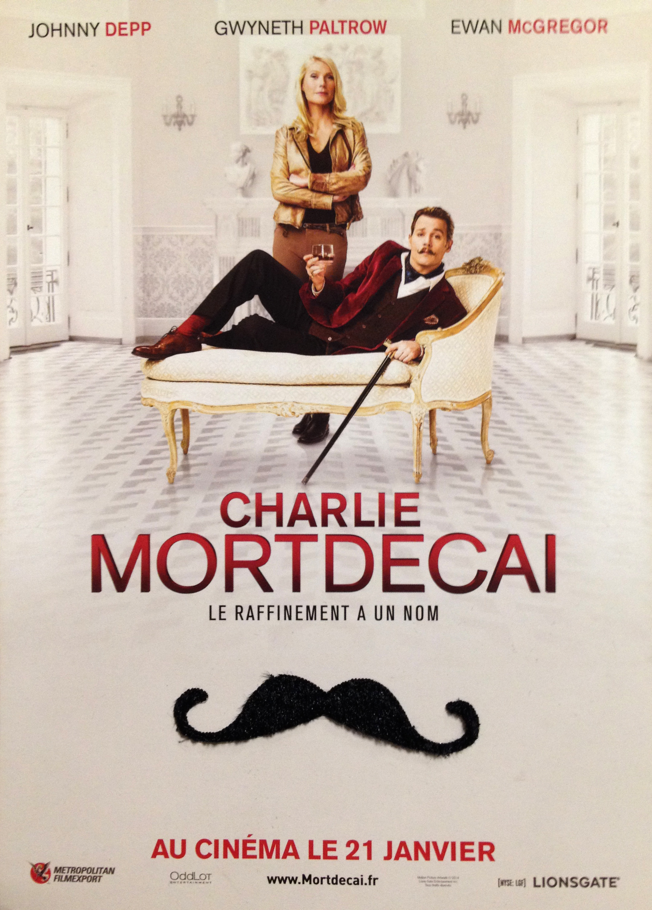 Charlie Mortdecai - Go with the Blog - goodies