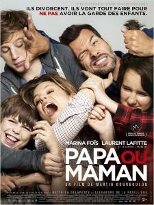 PAPA OU MAMAN - Go with the Blog - Affiche du film