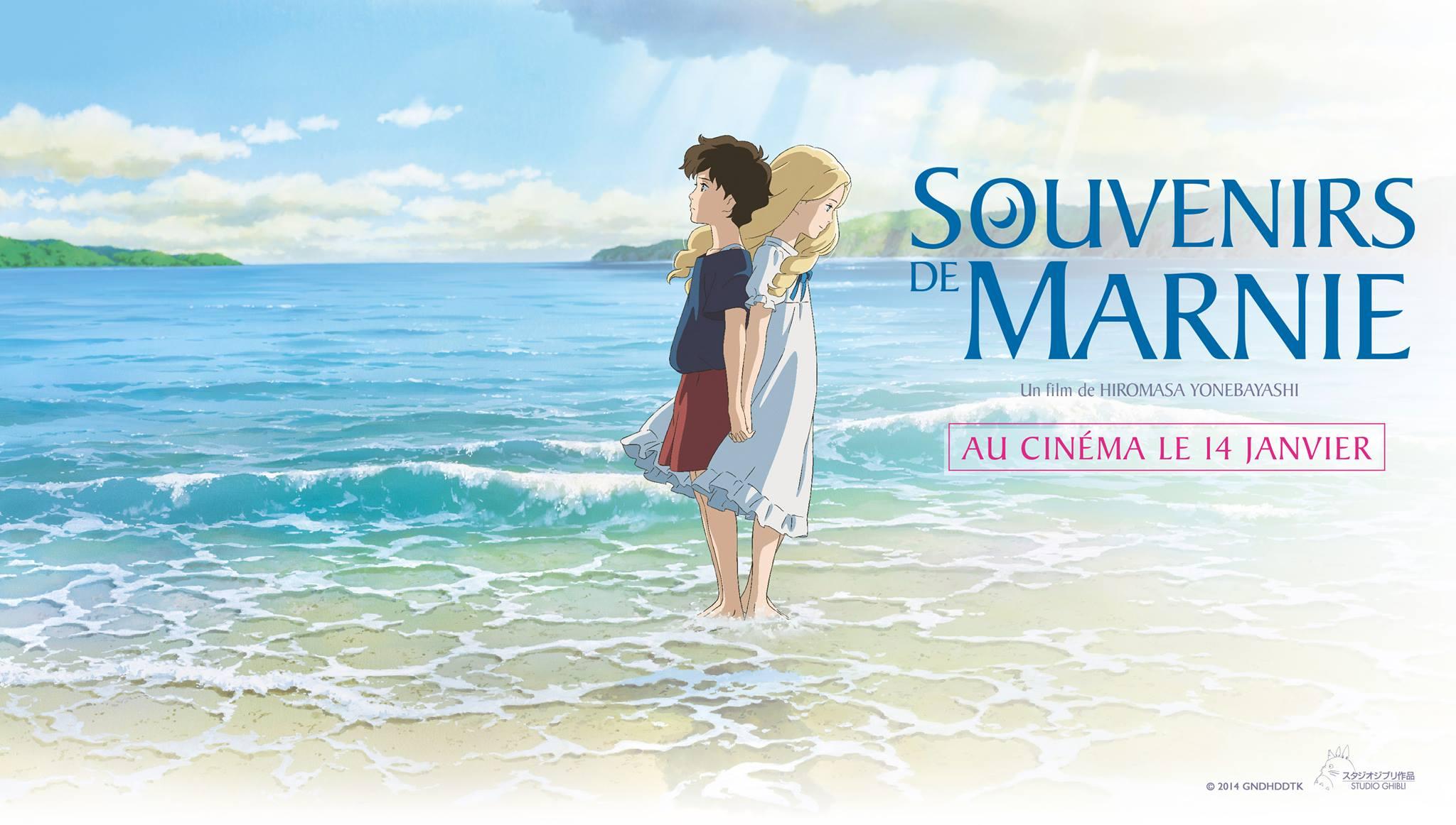 SOUVENIRS DE MARNIE - bandeau visuel large film Ghibli - Go with the Blog