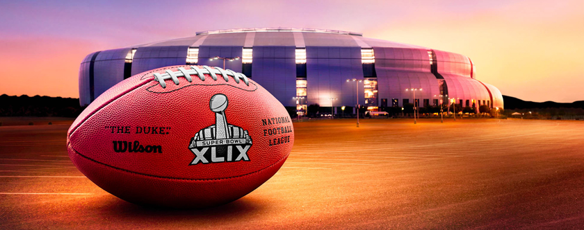 SUPERBOWL 2015 Arizona Phoenix University Stadium - Go with the Blog
