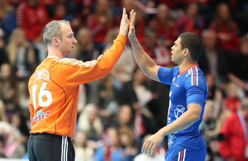 Thierry Omeyer Daniel Narcisse - Equipe de France Handball - Paris World Challenge - Go with the Blog