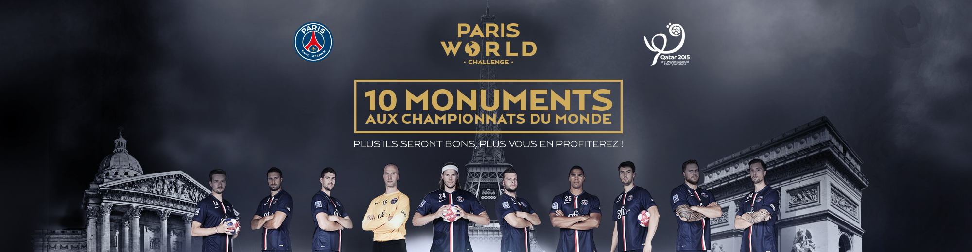 10 joueurs paris wold challenge - Go with the Blog