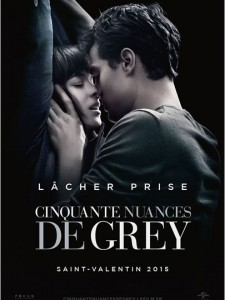 50 NUANCES DE GREY - affiche France Universal Pictures - Go with the Blog