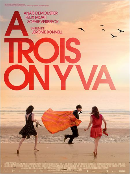 ATROIS ON Y VA - Go with the Blog - Affiche