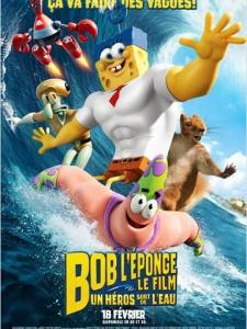 BOB L'EPONGE LE FILM - affiche France Paramount - Go with the Blog