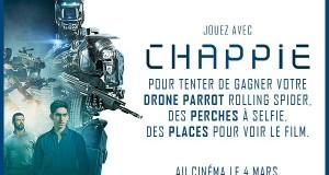 Concours : des invitations et des cadeaux collectors du film CHAPPIE à gagner