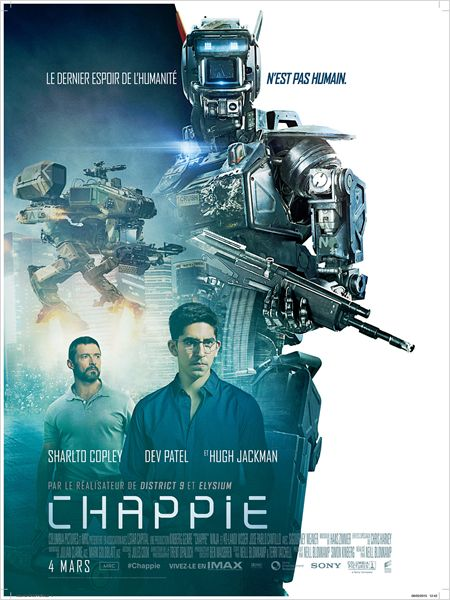 Chappie - Go with the Blog - Affiche du film