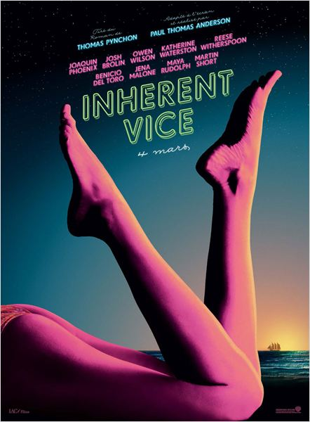 INHERENT VICE - Affiche France Warner Bros France - Go with the Blog