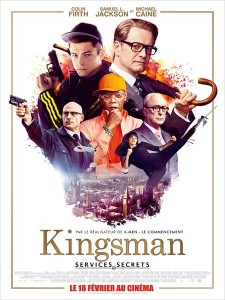 KINGSMAN - Go with the Blog - Affiche du film