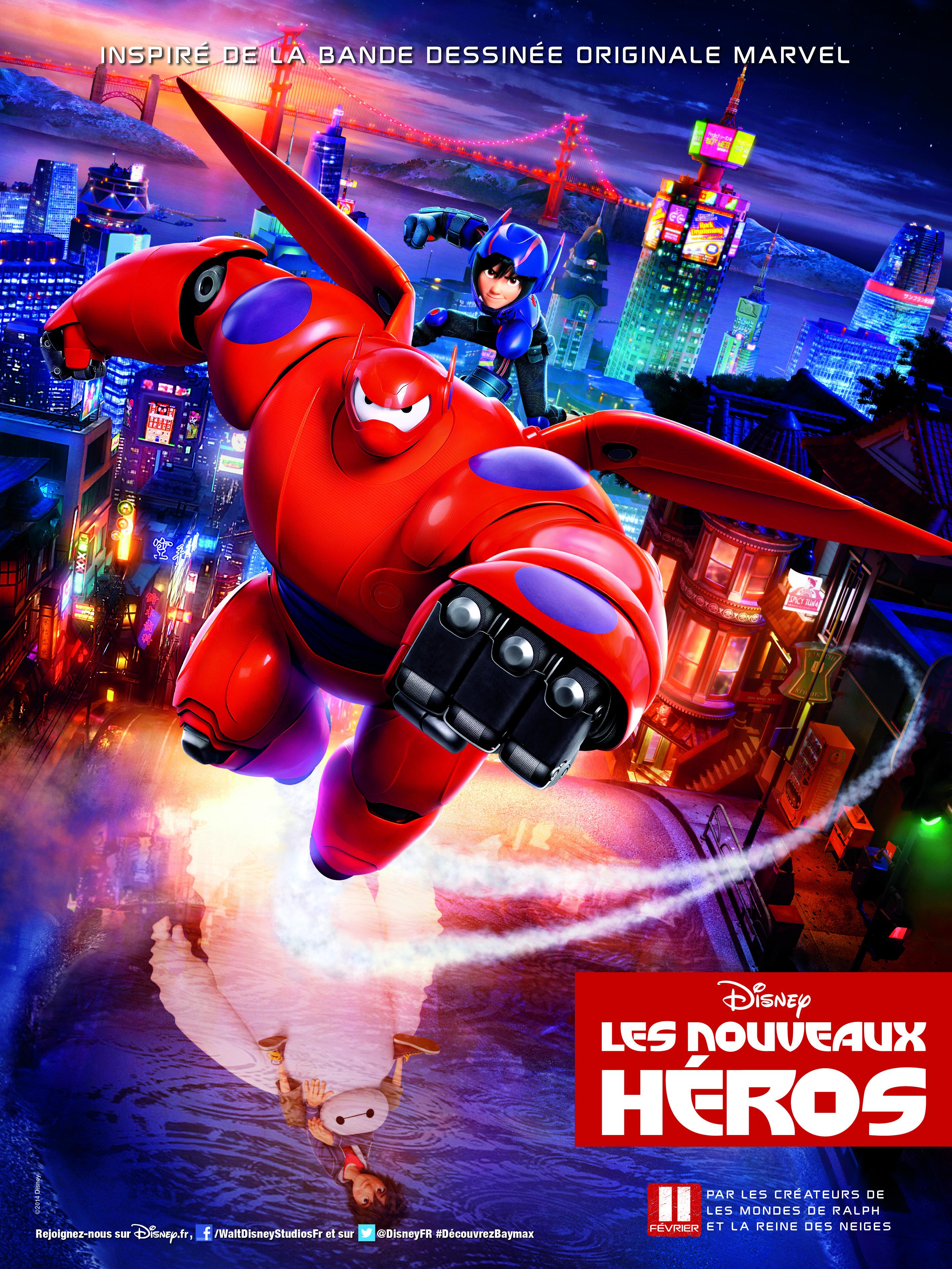 LES NOUVEAUX HEROS - Go with the Blog - Affiche du film