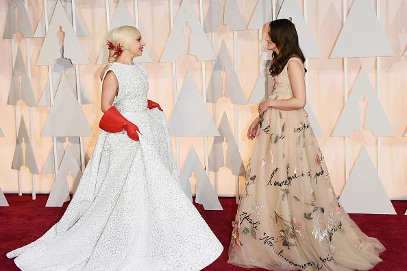 OSCARS 2015 - Lady Gaga Keira Knightley - Go wih the Blog
