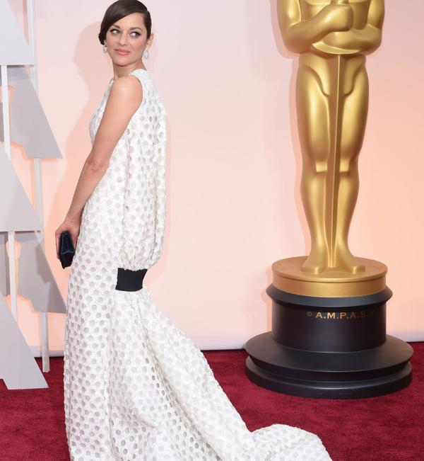 OSCARS 2015 - Marion Cotillard red carpet 2 - Go with the Blog