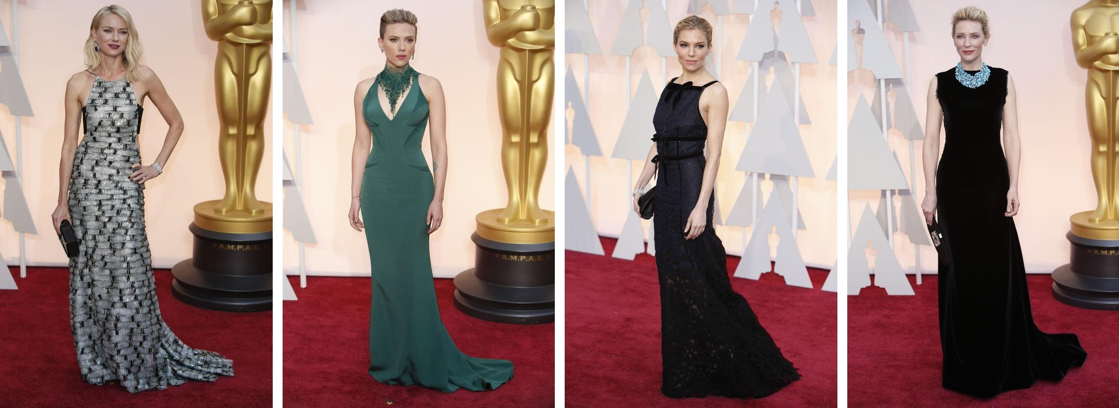 OSCARS 2015 - remettantes red carpet - Go with the Blog