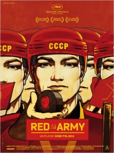RED ARMY - film documentaire ARP Sélection Gabe Polsky Affiche FRANCE - Go with the Blog