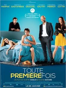 TOUTE PREMIÈRE FOIS - affiche France film Gaumont Gastambide Marmai 2015 - Go with the Blog