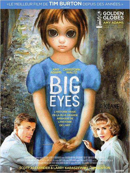 Big Eyes - Go with the Blog - affiche