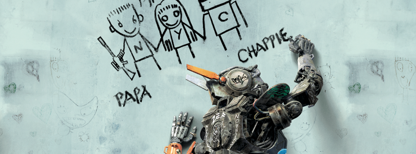 CHAPPIE - Bandeau Large Visuel Facebook Sony Pictures Blomkamp - Go with the Blog