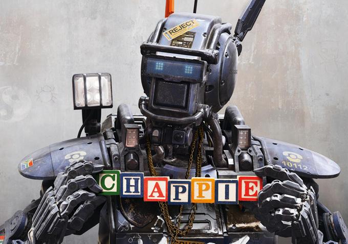 CHAPPIE : ALLÔ MAMAN ROBOT