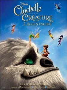CLOCHETTE ET LA CRÉATURE LÉGENDAIRE - Go with the Blog - Affiche du film