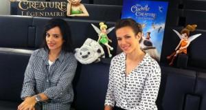 Rencontre avec Alizée et Lorie pour CLOCHETTE ET LA CRÉATURE LÉGENDAIRE