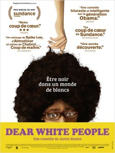 Dear white people - Go with the Blog - Affiche du film